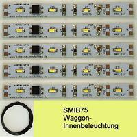 SMIB75 SMD LED Waggon Innenbeleuchtung 75mm Warmweiß Analog/Digital C3241
