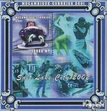 Mozambique block90 unmounted mint / never hinged 2001 Olympics Winter Games 2002