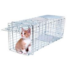 "26""x10""x11"" Raccoon Skunk Humane Animal Trap Cage Metal Frame Rabbit Cat Live"