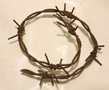 ORIGINAL WW2 WWII WW 2 WW II GERMAN BARBED WIRE 45 cm - Kurland battlefield 1945