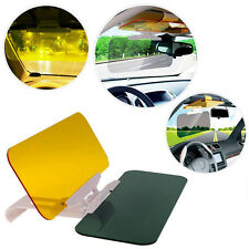 2 in1 Auto Car Anti-Glare Goggle Mirror Sun Visor Day & Night Vision Driving Kit