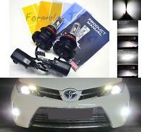 LED Kit X3 50W 9007 HB5 6000K White Head Light Two Bulbs High Low Beam Lamp Fit