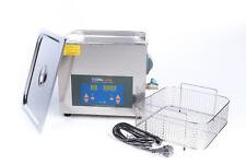 Bac nettoyeur ultrason 10 litres / numérique avec panier + couvercle