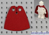 LEGO - Minifigure Cloth Cape Dark Red - Custom Fabric Robe Harry Potter Robe