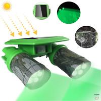 Hog Hunting Green Light IP65 120°Angle Deer Feeder PIR Motion Outdoor Waterproof