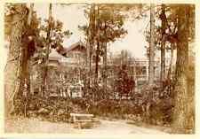 France, Arcachon, Villa Graigcrostan  Vintage print. Gironde. Aquitaine Tirage
