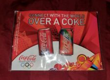 2008 Coca Cola Coke Connect With The World Over A Coke Olympic Pin Set Beijing