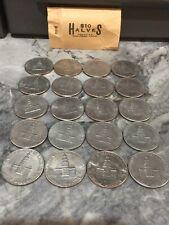 $50 FV! HUGE Bulk Lot of 100 Circulated 1976 Kennedy Bicentennial Half Dollars