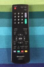 SHARP 076B0MQ051 LCD TV REMOTE - ORIGINAL - LC-19SB27 LC-22SB24 LC-19SB27