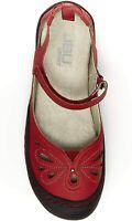 JBU by Jambu Women's Meadow Mary Jane Flat, Red, Size  RYJh