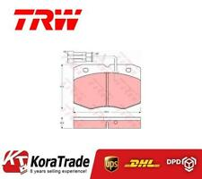 TRW GDB1356 FRONT OE QUALITY DISC BRAKE PADS SET