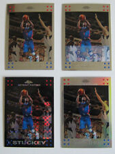 2007-08 Topps Chrome Rodney Stuckey Black X-fractor auto refractor 4 card lot