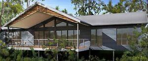 Queensland Entertainer 2 Bedroom + Study + 2 Bathroom + Big Deck 173.2m² home.