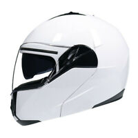 Tough Guy Style Motorcycle Helmet Flip Up Modular Helmet Full Face Dual Visor