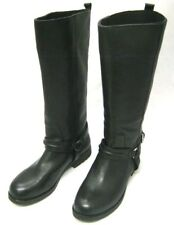 Coach Valterra Sport Calf Lug Leather Boots Black Size 6