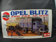 Airfix n° 02315 camion Opel Blitz Pak 40 Gun kit HO jamais monté complet