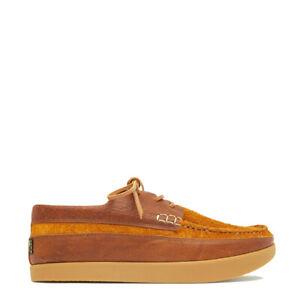 Yogi Logan Tumbled Leather / Reverse Shoe Chestnut Brown - SALE!!