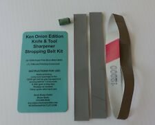 Stropping Belt Kit for Ken Onion Edition Knife and Tool Sharpener (non leather)