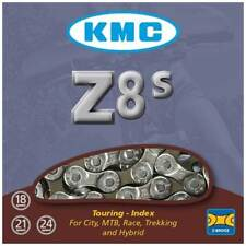 KMC Z8s Multiple Speed Bike Chain Silver/grey - 116l