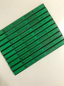 10 x Carpenters Pencils Rexel Blackedge Joinery Woodworking  Hard DIY Builders