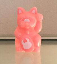 RxH x Uamou Pink GID lucky fortune cat - kaiju vinyl RealxHead Dcon 17 Glow