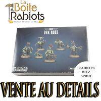Warhammer 40000 Vente au détails Ork Nobz Rabiots Bitz Sprue