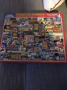 White Mountain 1000 Piece Jigsaw Puzzle - ROADSIDE AMERICA