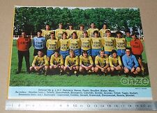 CLIPPING POSTER FOOTBALL 1980-1981 D2 NOEUX-LES-MINES HOUILLIER