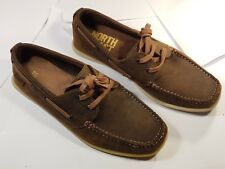 M&S Collection / North Coast - Deck / Boat Shoes - Brown - UK Size 6 - Pre-worn