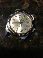 "Vintage GRUEN ""Poor Man's"" ? OCEAN CHIEF ? 510 RSS Skin Diver Parts Watch"