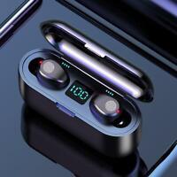 TWS Wireless Bluetooth 5.0 Earphones Earbuds Stereo HD In-ear Headphones Headset
