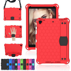 For iPad Pro 11 2020 Air 3 4 10.9 10.5 9.7 Kids Shockproof Stand Case Hand Strap