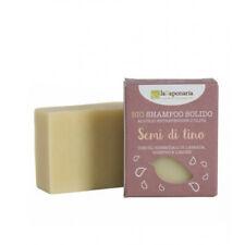 La Saponaria Bio Shampooing Solide Graines de Lin Cheveux Savon Oil 100gr