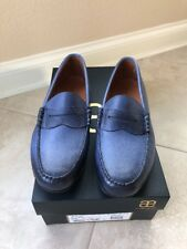 New With Box Allen Edmonds SIESTA KEY Penny Loafers 13 D Blue Color