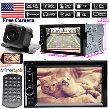 For  Dodge Chrysler 2Din Car Stereo Radio HeadUnit DVD Player TouchScreen&Camera