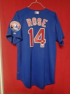 Pete Rose Signed Autographed Montreal Expos Jersey W/Hit King - JSA NN75721