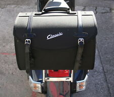 Vespa Classic Soft Top Box Luggage Storage Bag Black PX GTS LX ET etc