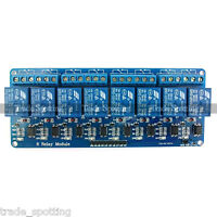 5v Eight 8 Channel DC 5V Relay Switch Module for Arduino Raspberry Pi ARM AVR US