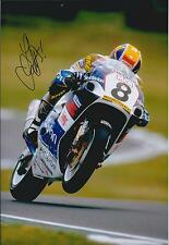 James HAYDON Signed 12x8 SUZUKI Motorbike Superbike Photo Autograph AFTAL COA