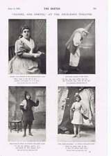 1895 Hansel And Gretel At The Princess Theatre Julia Lennox Edith Miller Jessie