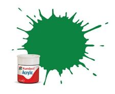 Humbrol 2 Acrylic Emerald Gloss New 12ml Pot - T48 Post