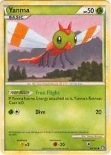 2X Yanma 84/102 HS Triumphant Common MINT! Pokemon