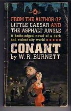 Burnett, W.R. CONANT (1961) PBO HTF mob warfare READ...