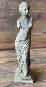 STONE GARDEN ROMAN LADY WOMAN GIFT ORNAMENT