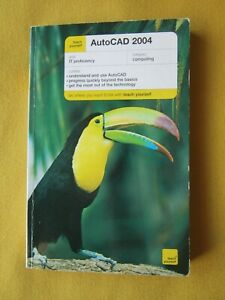 Teach Yourself AutoCAD 2004 book Computer IT Learning