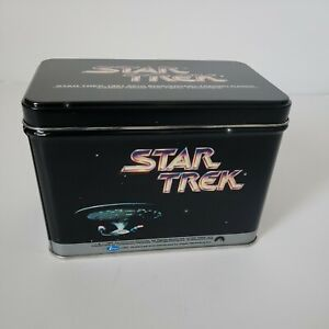 1991 Star Trek 25th Anniversary Trading Cards Collector Tin Only No Cards