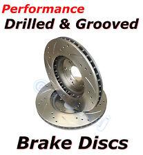 Actualización de rendimiento Perforado & Discos De Freno Ranurado Trasero para adaptarse a Bmw E36 E46