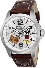 New!! Invicta 22874 Men's Disney Limited Edition 48mm Quartz Brown Leather Watch