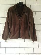 Para mujer THE NORTH vintage retro marrón paño grueso y suave urbano FACE Suéter Chaqueta * 2