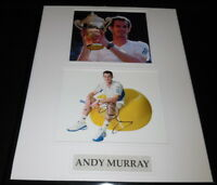 Andy Murray Signed Framed 16x20 Photo Display